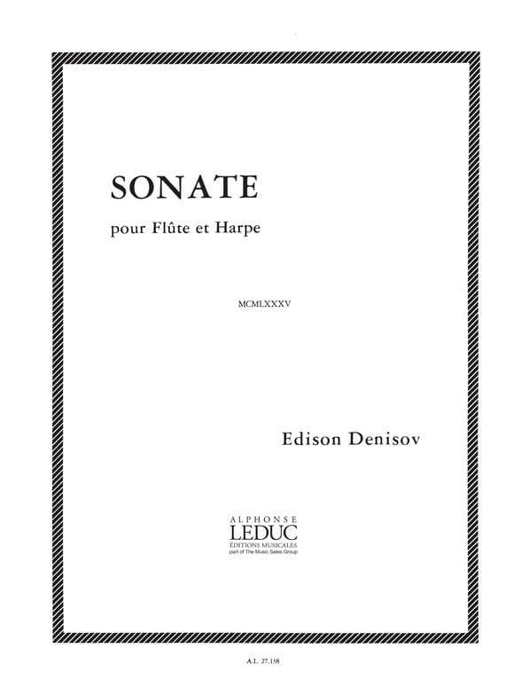 Sonate - Edison Denisov - Partition - Duos - laflutedepan.com