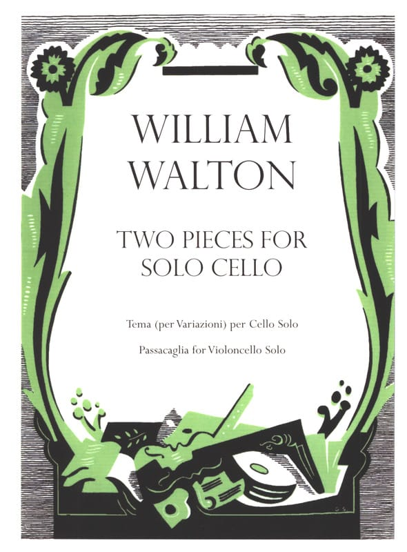 2 Pieces For Cello Solo - William Walton - laflutedepan.com