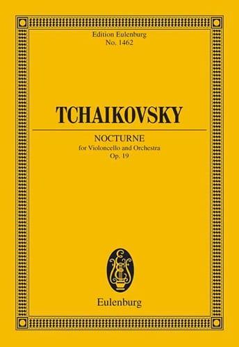 Nocturne Op.19 - TCHAIKOVSKY - Partition - laflutedepan.com