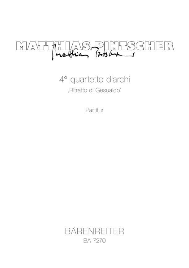 4. Quartetto d'archi Ritratto di Gesualdo 1992 - laflutedepan.com
