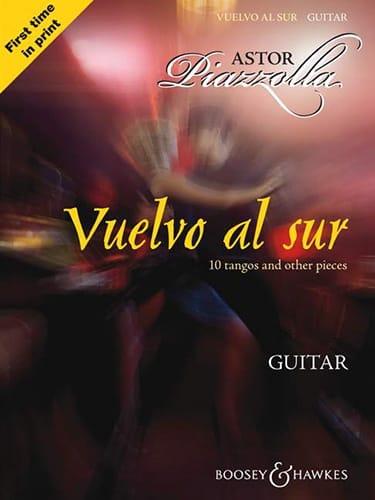 Vuelvo Al Sur - Guitare - Astor Piazzolla - laflutedepan.com