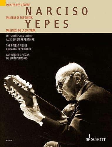 Narciso Yepes - Las partes más bellas de su directorio - Partition - di-arezzo.es