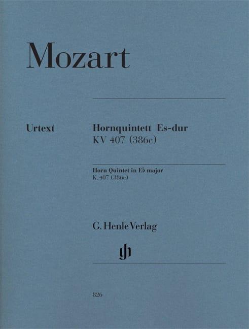 Quintette pour cor en Mi bémol majeur KV 407 386c - laflutedepan.com