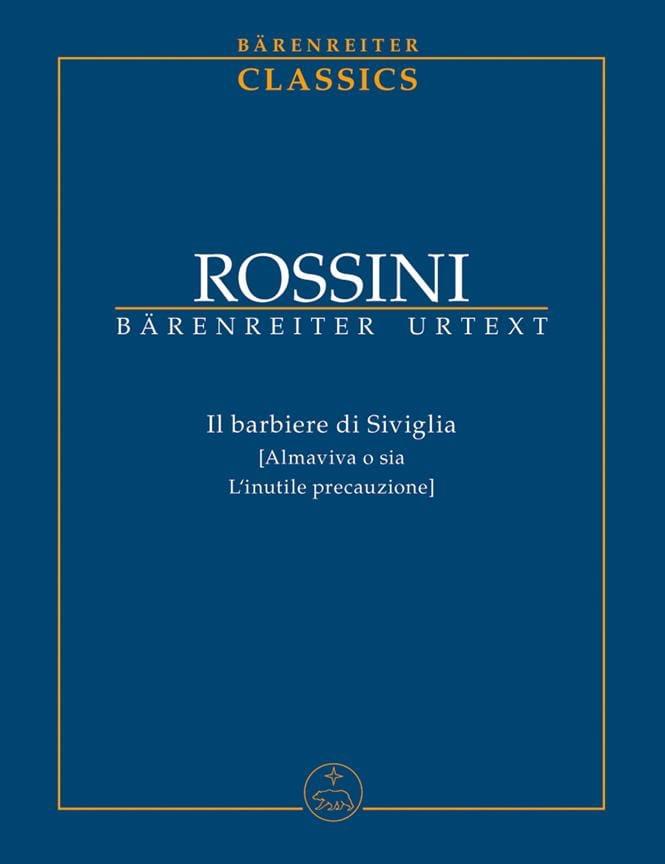 Gioacchino Rossini - The Barber Of Seville - Partition - di-arezzo.co.uk