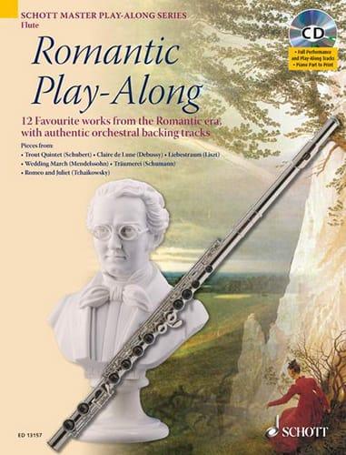Romantic Play-Along For Flute - Partition - laflutedepan.com