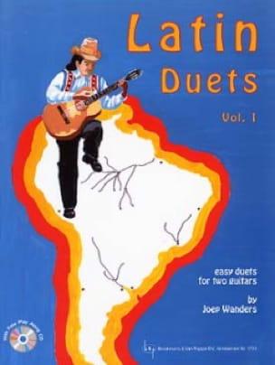 Latin Duets vol 1 - Book - Joep Wanders - laflutedepan.com