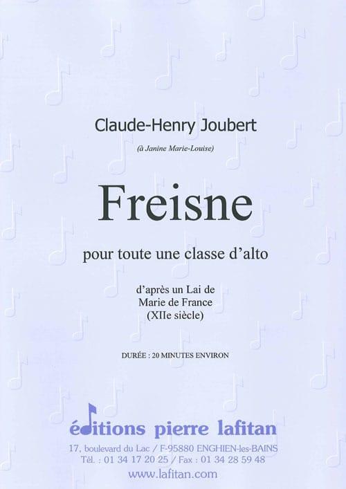 Claude-Henry Joubert - Freisne D'aprés un Lai de Marie de France XII s. - Partition - di-arezzo.fr