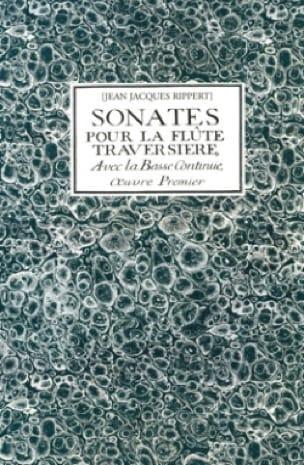 Sonates pour la flûte traversière avec la basse continue, 1er livre - laflutedepan.com