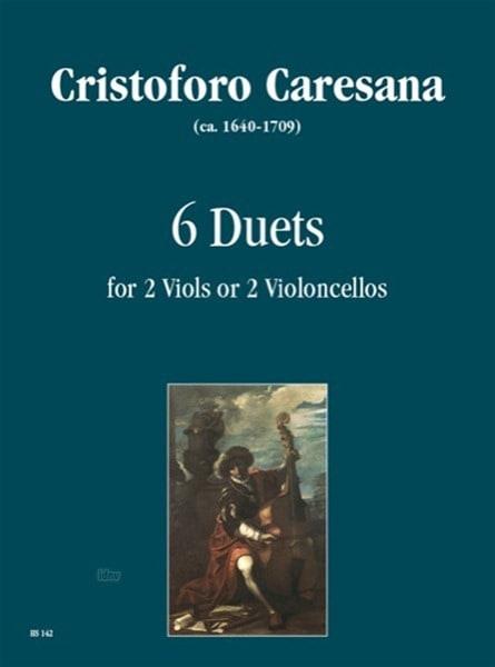 6 Duets - Cristoforo Caresana - Partition - laflutedepan.com