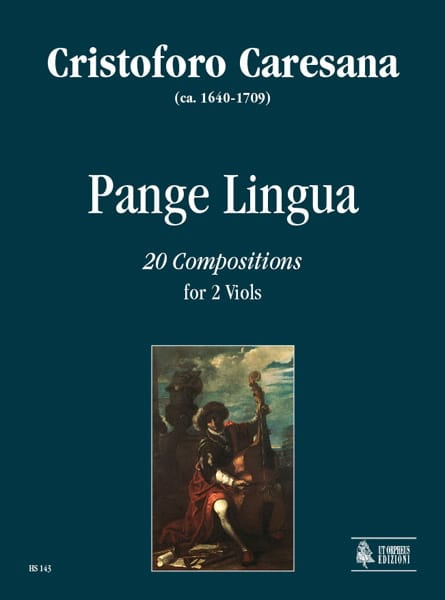 Pange Lingua - Cristoforo Caresana - Partition - laflutedepan.com