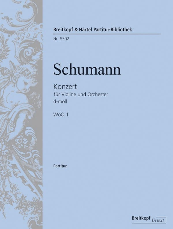 SCHUMANN - Concerto in Re Min. W0o1 - Partition - di-arezzo.com