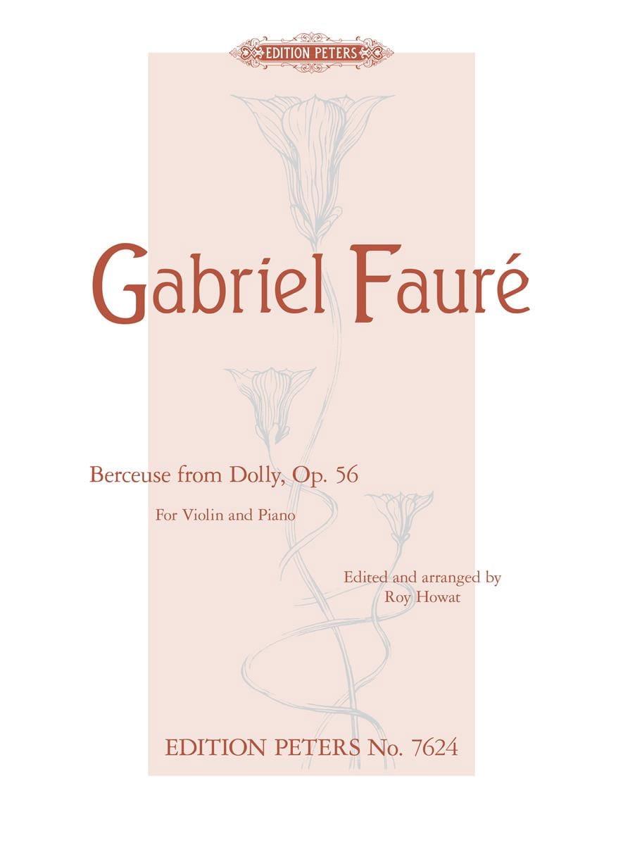 Berceuse de Dolly Op.56 - FAURÉ - Partition - laflutedepan.com