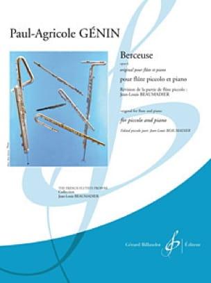 Berceuse Op.6 - Paul Agricole Génin - Partition - laflutedepan.com