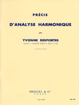 Yvonne Desportes - Accurate harmonic analysis - Partition - di-arezzo.com