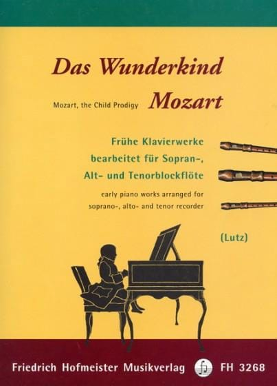 Das Wunderkind Mozart - MOZART - Partition - laflutedepan.com