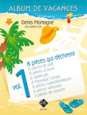 Album de Vacances Volume 1 - Denis Mortagne - laflutedepan.com