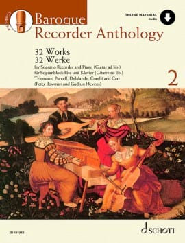 - Baroque Recorder Anthology Volume 2 - Partition - di-arezzo.com