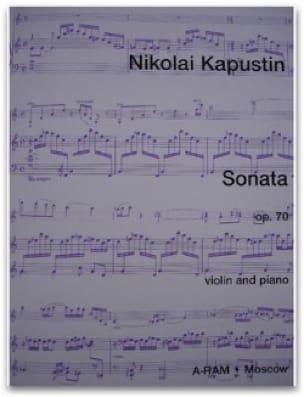 Sonate Opus 70 - Nikolai Kapustin - Partition - laflutedepan.com