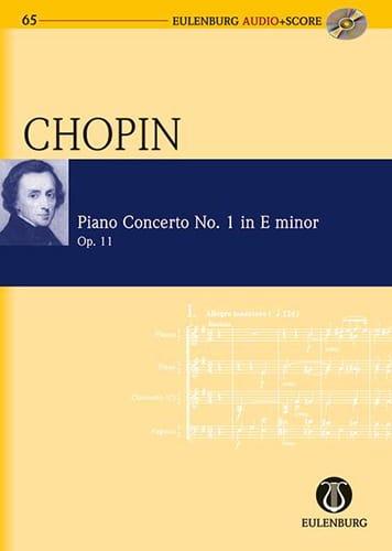 CHOPIN - Piano Concerto No. 1 In E Min. Op.11 - Partition - di-arezzo.com