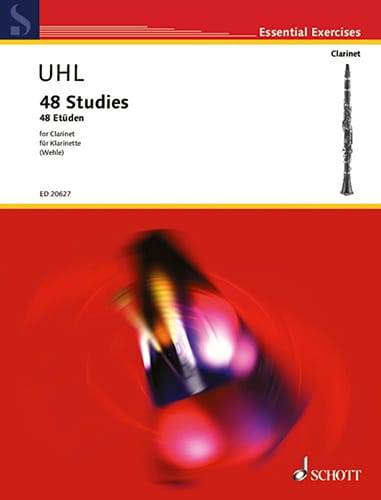 48 Studies For Clarinet - Alfred Uhl - Partition - laflutedepan.com