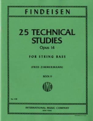 25 Technical Studies Op. 14 Vol 2 - Findeisen - laflutedepan.com