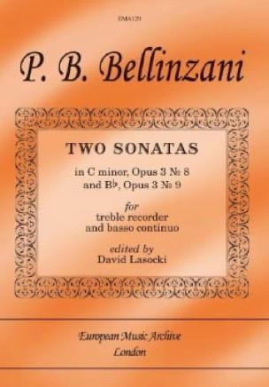 2 Sonates Op.3 N°8 En Ut Min. & Op.3 N°9 En Sib - laflutedepan.com