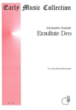 Exsultate Deo - Alessandro Scarlatti - Partition - laflutedepan.com