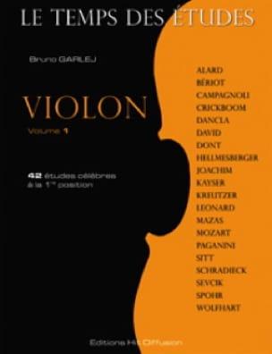 - Le Temps des Etudes Volume 1 - Violon - Partition - di-arezzo.fr