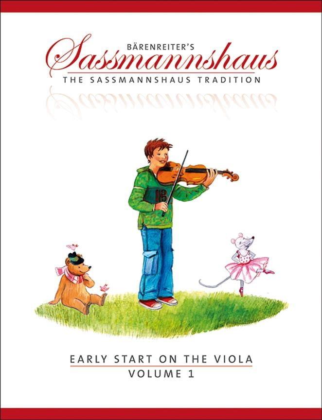 Early Start On The Viola Volume 1 - laflutedepan.com