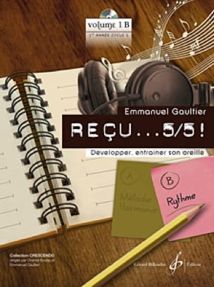 Emmanuel Gaultier - Received ... 5/5! Volume 1B - Rhythm - Partition - di-arezzo.com