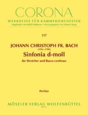 Sinfonia d-moll - Johann Christoph Friedrich Bach - laflutedepan.com