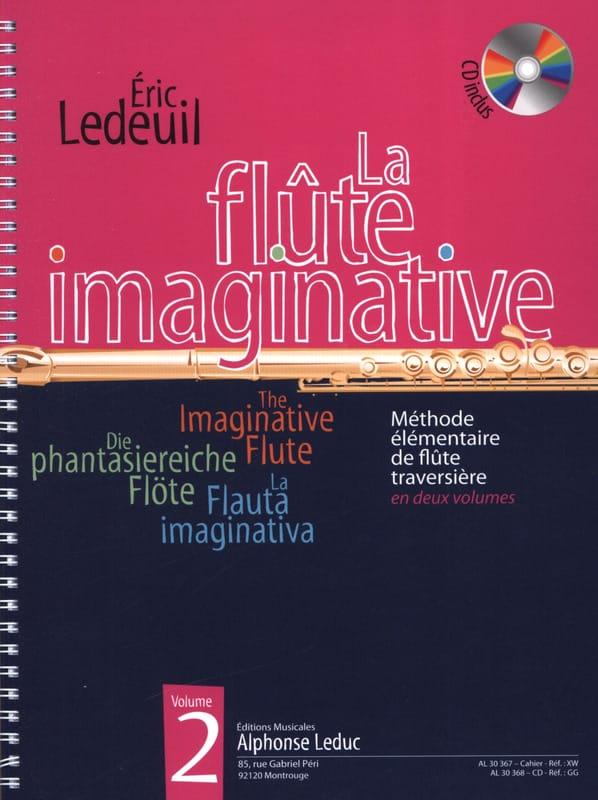 La Flûte Imaginative Volume 2 - Eric Ledeuil - laflutedepan.com