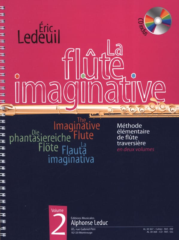 Eric Ledeuil - The Imaginative Flute Volume 2 - Partition - di-arezzo.com