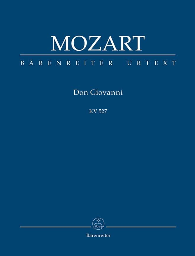 MOZART - Don Giovanni - Partitur - Partition - di-arezzo.co.uk