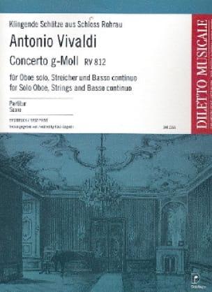 Concerto En Sol Min. Rv 812 - VIVALDI - Partition - laflutedepan.com
