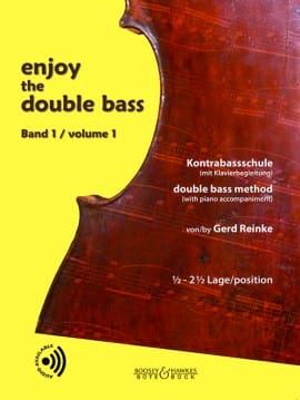 Gerd Reinke - Enjoy The Double Bass Volume 1 - Partition - di-arezzo.fr