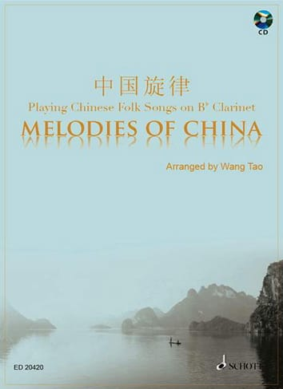 Traditionnel - Melodies Of China - Clarinet - Partition - di-arezzo.com