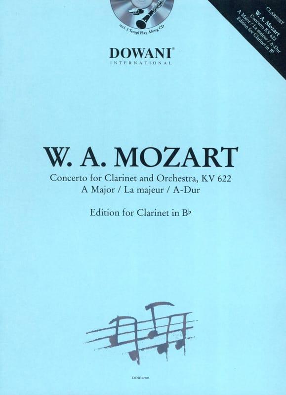 MOZART - Concerto in the Maj. Kv 622 - Partition - di-arezzo.co.uk