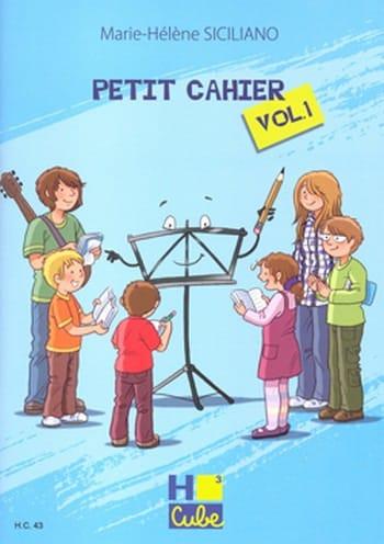 Petit Cahier de Révision Volume 1 - SICILIANO - laflutedepan.be