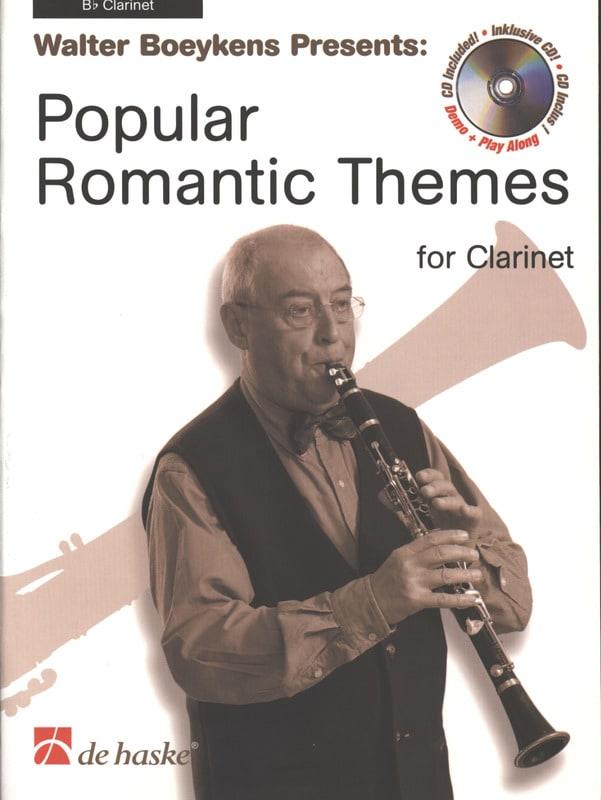 Popular Romantic Themes - Clarinet - laflutedepan.com