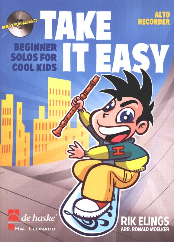Take It Easy - Flûte A Bec Alto - Rilk Elings - laflutedepan.com