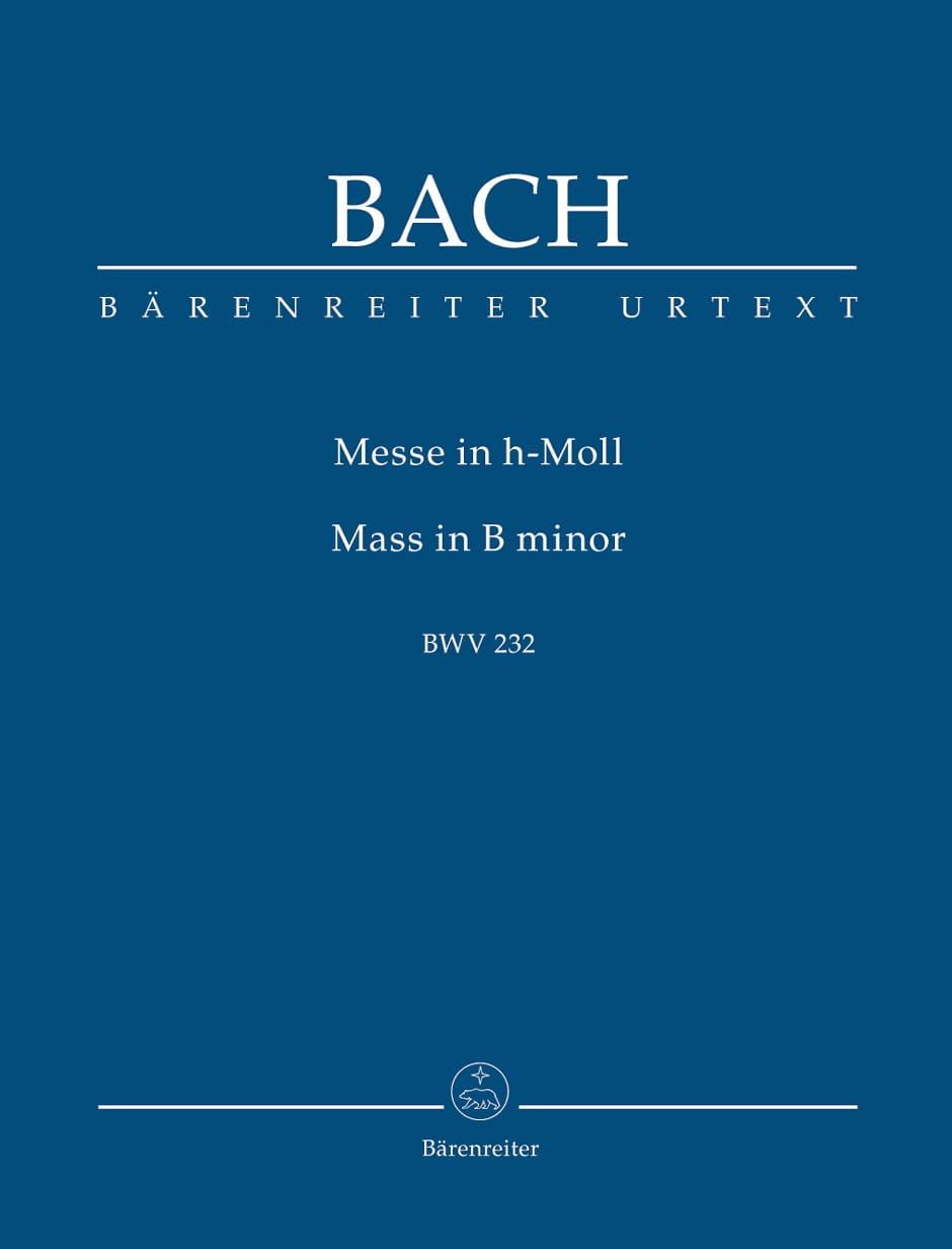 Messe en Si Mineur BWV 232 - BACH - Partition - laflutedepan.com
