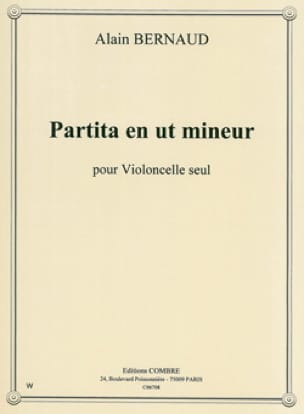 Partita En Ut Mineur - Alain Bernaud - Partition - laflutedepan.com
