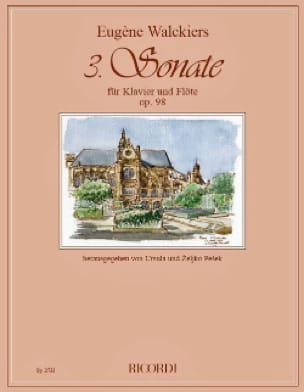 Sonate n° 3 Op. 98 - Flûte et piano - laflutedepan.com