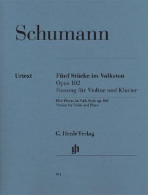 5 Pièces Dans un Style Populaire Op.102 - SCHUMANN - laflutedepan.com