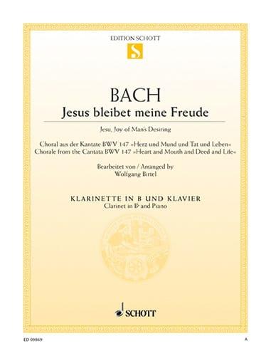 Jesus Bleibet Meine Freude - Clarinette - BACH - laflutedepan.com