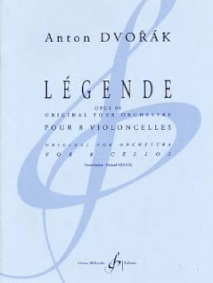 DVORAK - Caption Op.95 - Partition - di-arezzo.co.uk