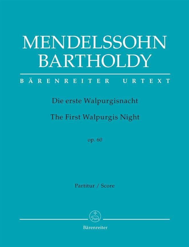Die Erste Walpurgisnacht Op 60 - MENDELSSOHN - laflutedepan.com