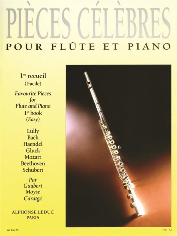 Pièces Célèbres - Volume 1 - Partition - laflutedepan.com