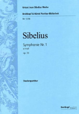 Jean Sibelius - Symphony No. 1 - Partition - di-arezzo.co.uk